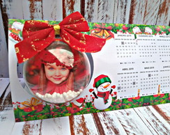 kit digital silhouette Calendario mesa Esfera Natal 126