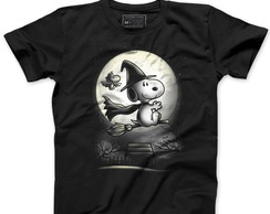 Camiseta Masculina Charlie Brown Snoopy, Harry Potter