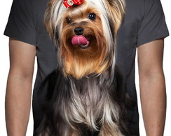 Camiseta Cão Yorkshire Terrier - Estampa Total