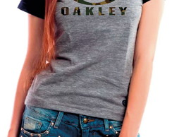 Camiseta Baby Look Oakley