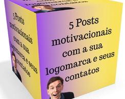 Post Prontos Com Frase Motivacional Postar Nas Redes Sociais