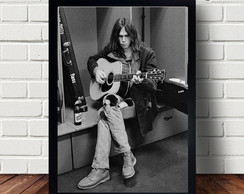 Quadro Poster Do Cantor Neil Young A3