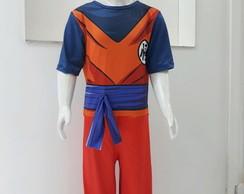 Fantasia Cosplay Costume Goku