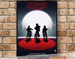 Placas decorativas - Stranger Things