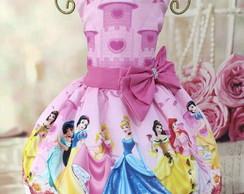 Vestido Princesas Disney No Elo7 Solange Silva Da