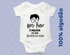 Body Bebê Harry Potter