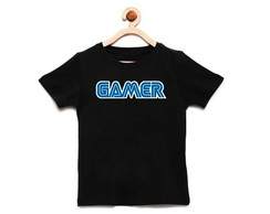 Camiseta Infantil Gamer, Video Game