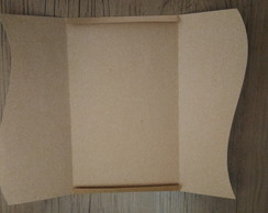 Envelope onda vertical kraft 10,5x15,5