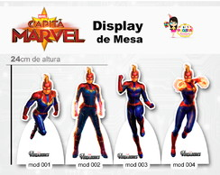display de mesa Capitã Marvel