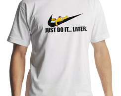 Camiseta Can someone else Just Do It Homer Simpson