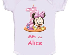 Body Mesversario Minnie baby