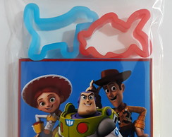 Kit Massinha Personalizada + 2 moldes Toy Story