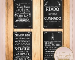 Arte Digital Placas Boteco