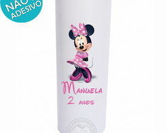 10 Copo Long Drink Personalizado Minnie Rosa