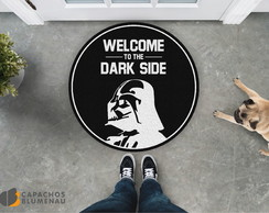Capacho Divertido - Welcome to the DARK SIDE Redondo