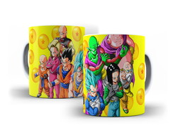 Caneca Porcelana Dragon Ball Z