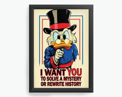 Quadro Decorativo Pato Donald, The Duck