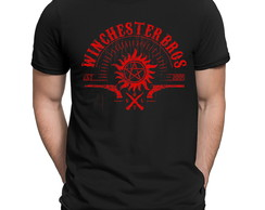 Camiseta Winchester Brothers Supernatural Série