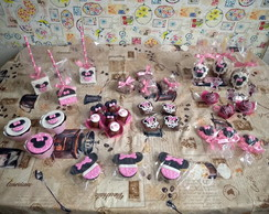 Kit Doces personalizados luxo