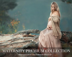Lightroom Maternity Premium Collection P/ Ensaios Gestantes