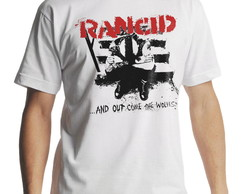 Camiseta Rancid And Out Come The Wolves Masculina Branca