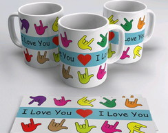 Caneca - I Love You