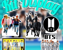 Kit Display Toten de Mesa MDF BTS Bangtan Boys