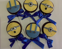 Pirulitos de Chocolate Minions