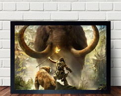 Quadro Poster Do Game Farcry Primal A3