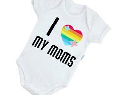 Body Infantil I love My Moms - 706