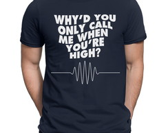 Camiseta Arctic Monkeys Banda Rock Blusa
