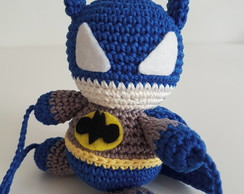 Super herói Batman - trava porta amigurumi