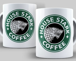 Caneca Game of Thrones - House Starks