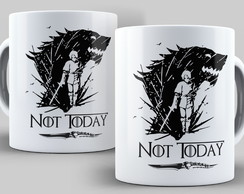Caneca Game of Thrones - Not Today