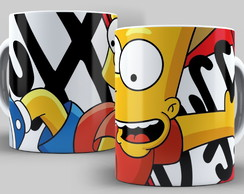 Caneca Simpsons - Bart Simpsons
