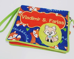 Necessaire Higiene Bucal Infantil-Bordado Personagem