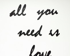 Adorno All you need is love