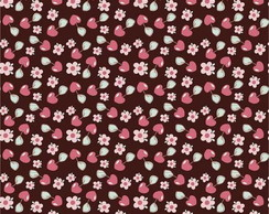 Papel para Scrapbook Cupcake Brown