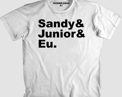 Camisa SANDY E JUNIOR 03 - SANDY E JUNIOR E EU