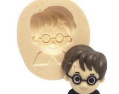 Molde de Silicone Harry Potter - Rosto Harry