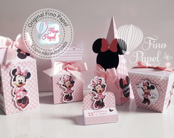 "Kit festa "" Minnie Rosa """