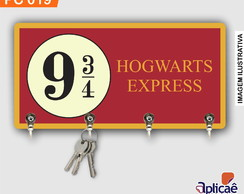 Porta Chaves Decorativo - HP Expresso Hogwarts PC 019