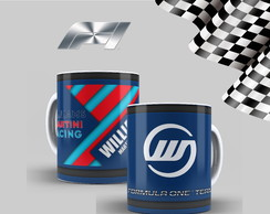 Caneca Fórmula1 - Williams Formula 1 team