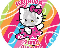 Rótulo Hello Kitty