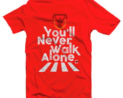 LIVERPOOL Camiseta - YOU'LL NEVER WALK ALONE. Masculino