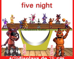 Display Five Night baby , totem enfeite de aniversario