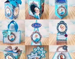 kit festa Frozen +BRINDE