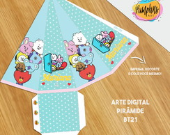 PIRÂMIDE BTS / BT21 - ARTE DIGITAL
