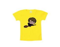 Camiseta INFANTIL OU Body Harry Potter Halloween