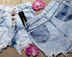 Shorts Jeans Feminino Customizado